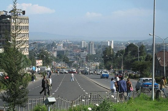 Tour de survol à Addis-Abeba