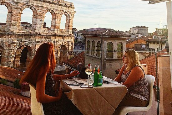 Rooftop Food and Wine walking tour...
