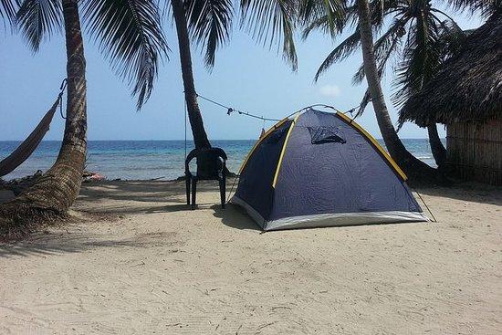 Camping em San Blas Islands