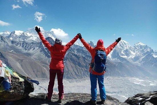Caminata del campo base del Everest