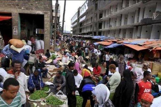 Addis Abeba Halbtages-Stadtrundfahrt