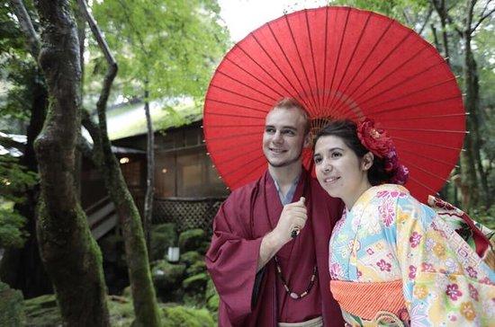 Kimono rental in Nara Park ( Deer...