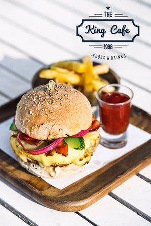 King Cafe burger