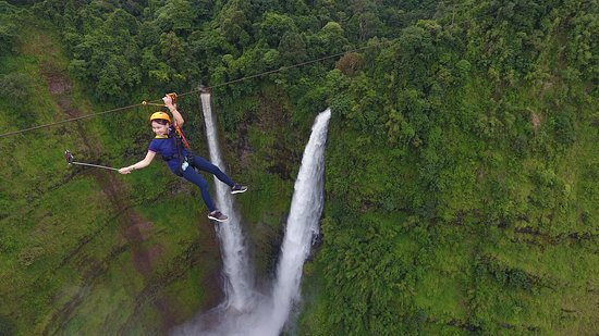 Pakse, Laos: Fly over Tad Fane waterfall