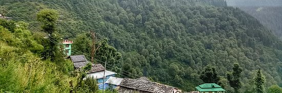 Tosh, Indien: View from our room