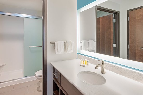Edina, MN: Suite Bathroom with Walk-In Shower