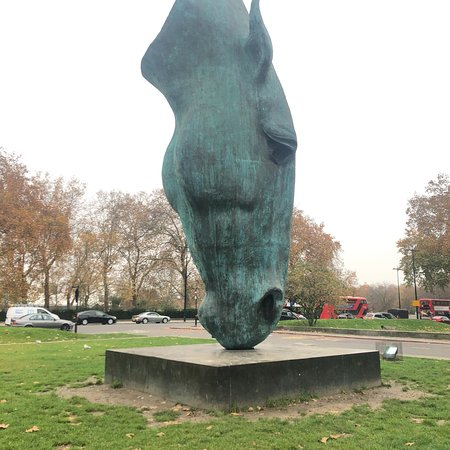 Still Water Horse Head Statue London England Updated