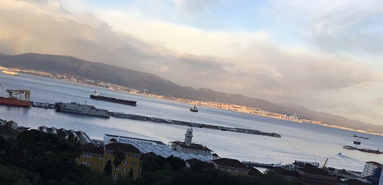 Rock Hotel Gibraltar : View from our room