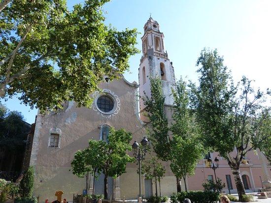 Valls, España: fachada Iglesia