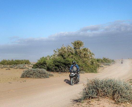 Namibia: Beautiful dirt riding!