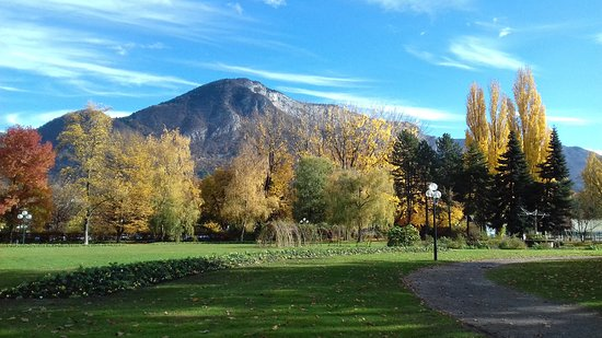 Jardins de l'Europe: Mountain view