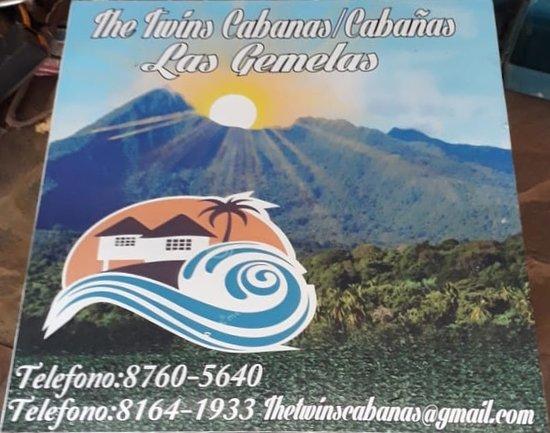 Aserradores, Nicaragua: Nuestro nombre estará en la entrada de las cabañas