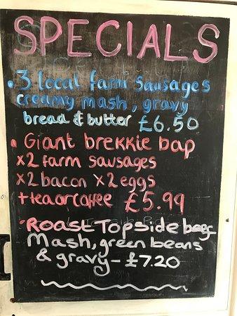 Wool, UK: Specials change regularly
