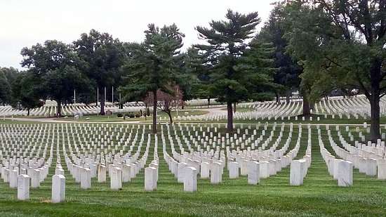 ‪Jefferson Barracks National Cemetery‬