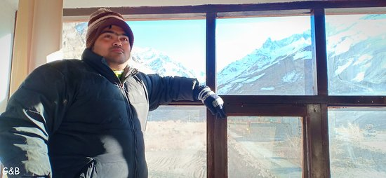 Losar, Hindistan: The famous Glass Room