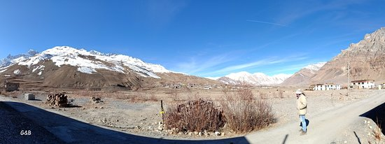 Losar, Hindistan: View from Nomads Cottage