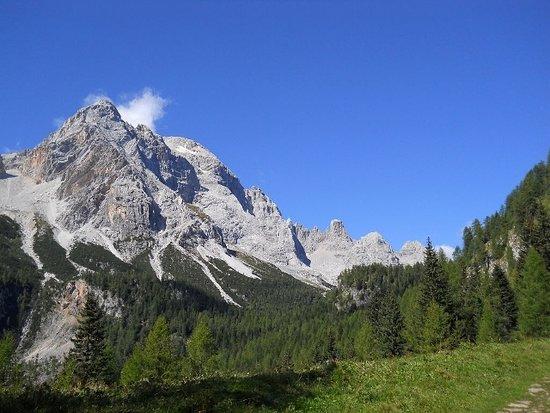 Zoldo Alto, إيطاليا: Vista sulla Civetta