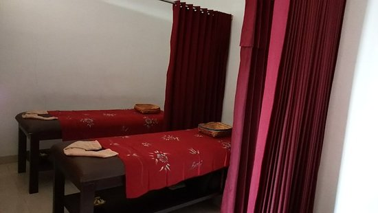 Jinah Bali Spa: Single and couple massage rooms