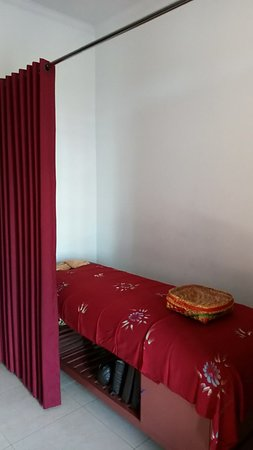 Jinah Bali Spa: Single massage room