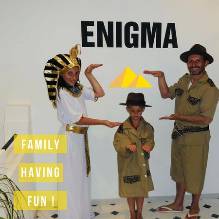 Family having fun !