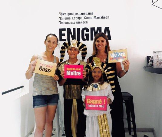 Enigma Escape Game une activité familiale...sans aucuns doutes !