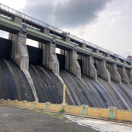 Udumalpet, Индия: Amaravathy Reservoir