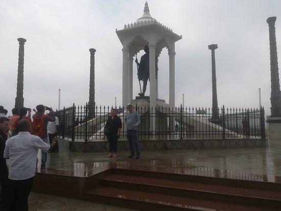 Statue Of Gandhi-bild