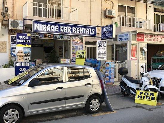 Mirage Car Rentals