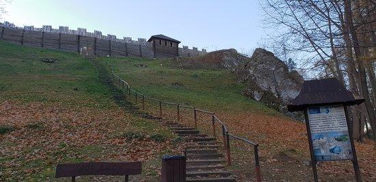 Podzamcze, Pologne: Gród na gorze Birów