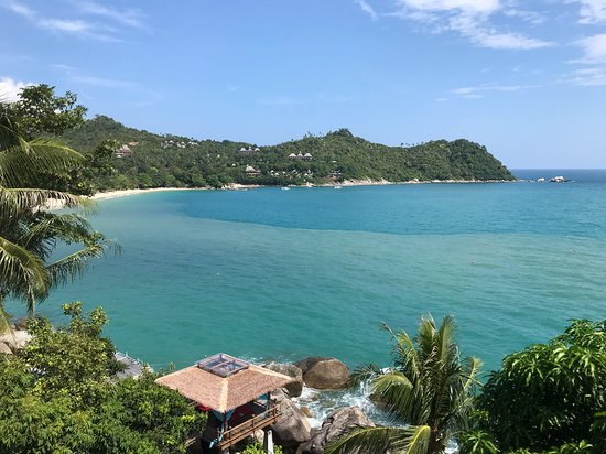 Panviman Resort - Koh Pha Ngan: Aussicht vorm Spa Point