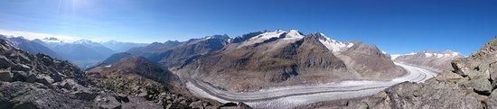 Bettmeralp, Schweiz: Bettmerhorn-Aletsch Glacier