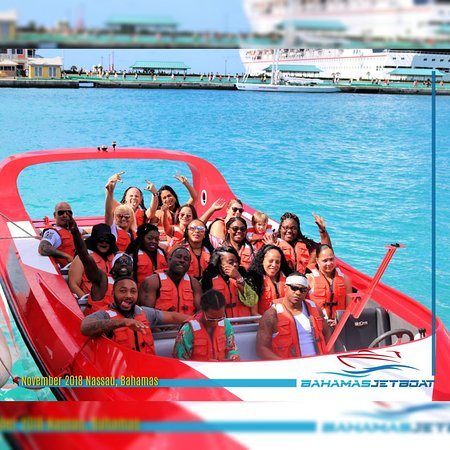 Nassau Shore Excursion- Jet Boat Tour