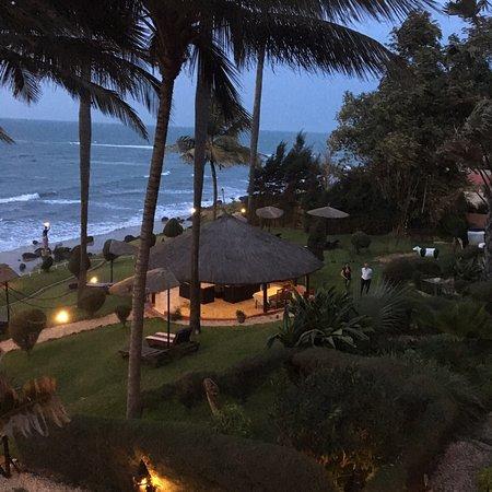 Ngala Lodge Restaurant: Fantastisk udsigt fra restauranten