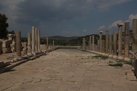 Column lined street at Patara