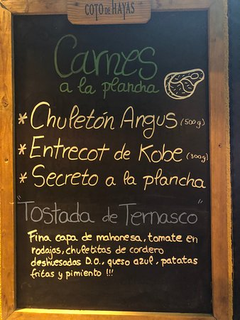 Caspe, Spain: Carnes 🍴