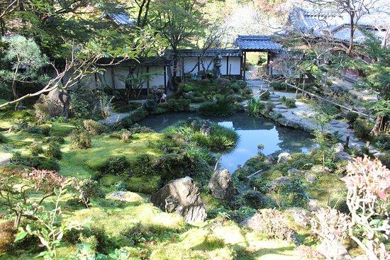 Saimyo-ji Garden Horaitei