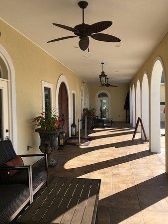 Mount Crawford, VA: main entrance side of bistro