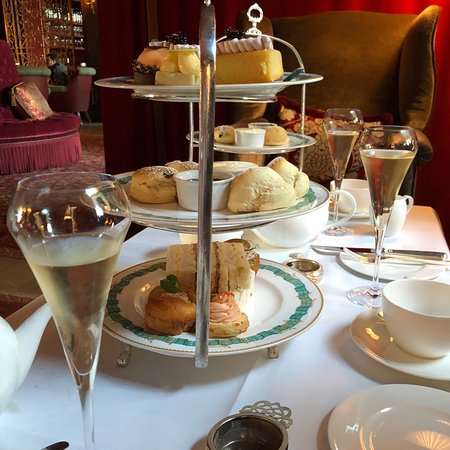 Sunday Champagne afternoon tea