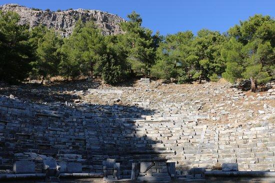 Gullubahce, Турция: Das Theater in den Ruinen von Priene