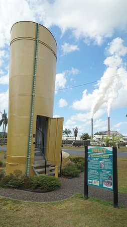 Tully, Australia: Climb the circular staircase inside to get to the top of the giant boot - nearly 26 feet tall!