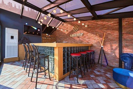 Rooftop terrace & bar