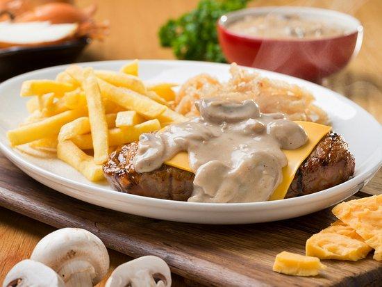 Kansas Spur Steak Ranch: Chedamelt
