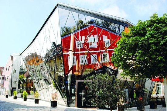 Erding, Đức: Neubaufassade