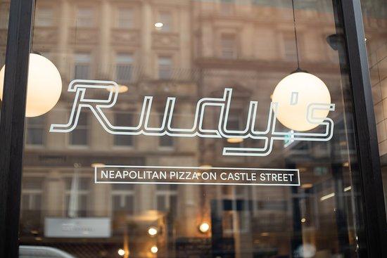 Rudys Neapolitan Pizza Castle Street Liverpool Menu