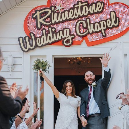 Rhinestone Wedding Chapel
