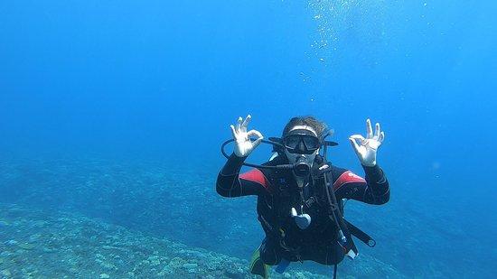 Etang Sale Les Bains, Ile de La Réunion : Sous l'eau et tout va bien !