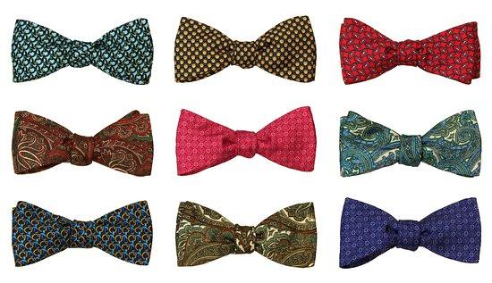 Massimo Ravinale: Alcuni pezzi della nostra collezione di Papillon da annodare.