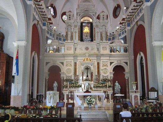 Santiago de Cuba Province, Cuba: Santuario de Nuestra Señora de la Caridad del Cobre, templo católico donde se encuentra la imagen de la Virgen, la Santa Patrona de todos los cubanos.