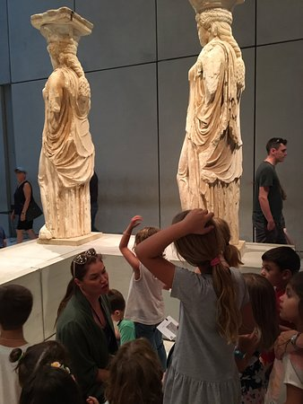 Acropolis museum for kids