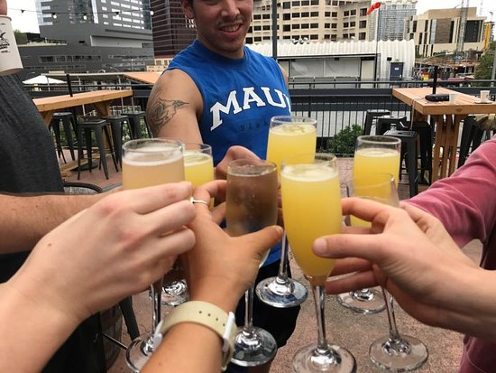 AdZENtures Yoga : Everything in moderation...except yoga (and maybe mimosas)!